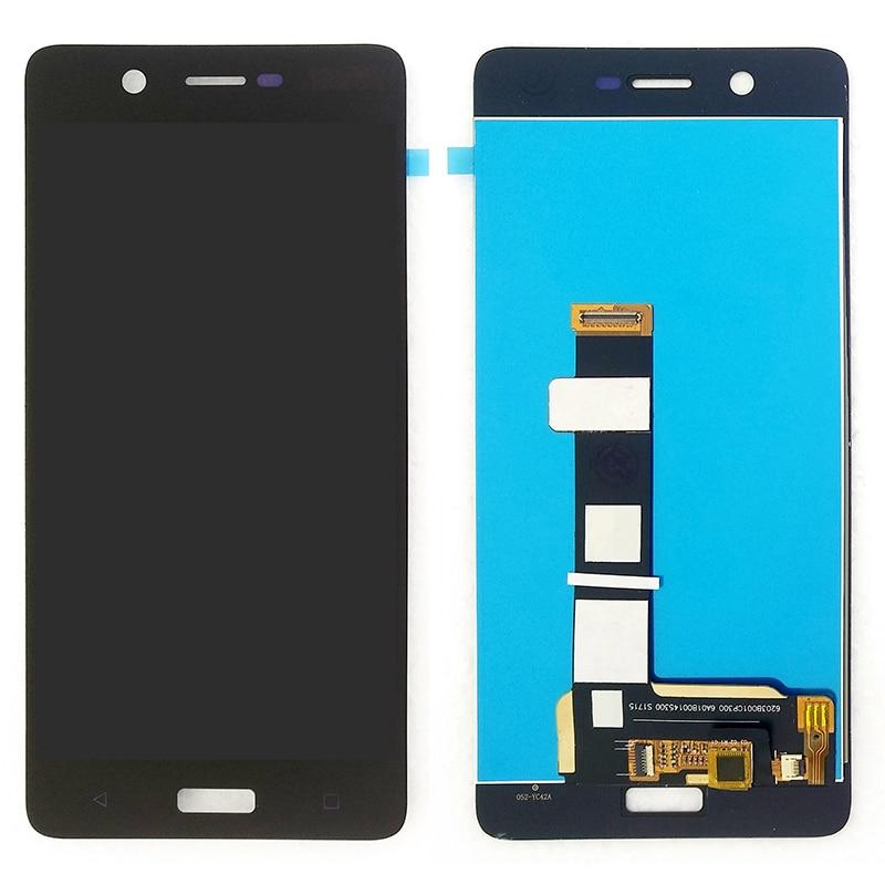 """100% Оригинальные ЖК-экраны для Nokia 5 N5 TA-1024 1027 1044 1053 5,2 """"черный дисплей сенсорный экран дигитайзер замена экрана"""