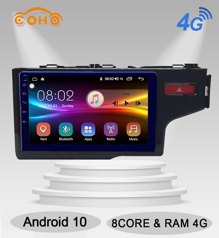 Android 10,0 8-core 4/64G navigatie auto radio android Carplay radio del coche para Honda FIT/jazz RHD 2014