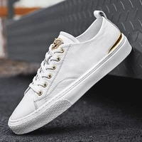 fall new men flat shoes lace up comfortable white shoes for male top quality casual shoes tenis masculino adulto joker simple