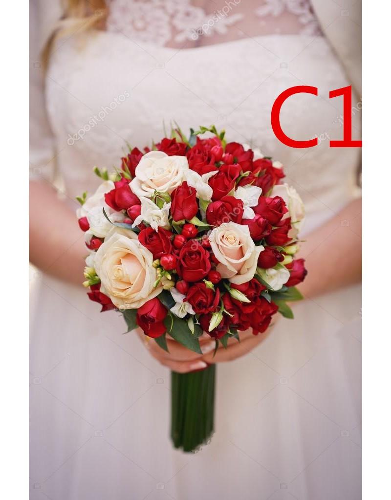 باقات الزفاف والمناسبات الهامة/اكسسوارات الزفاف/باقات الزفاف RB3025A 1