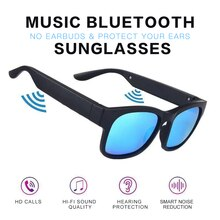UV400 Smart Glasses Wireless Bluetooth Hands-Free Calling Audio Open Ear Anti-blue Light Lenses IPX7