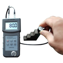 Jauge dépaisseur à ultrasons numérique 1.0-245mm,0.05-8 pouces (en acier)