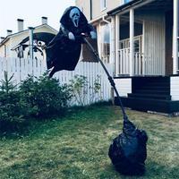 Scream ScareCrow Halloween Ghostface Scarecrow Decoration Creative Home Garden Yard DIY Ghostface Scarecrow