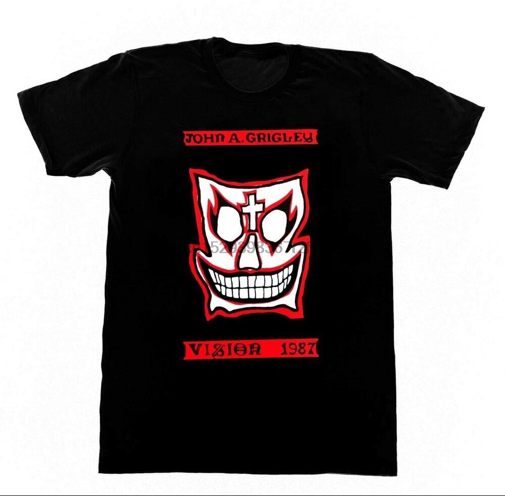 GRIGELY camisa de visión 90 Vintage camiseta skate Gator Street Ware González (1)