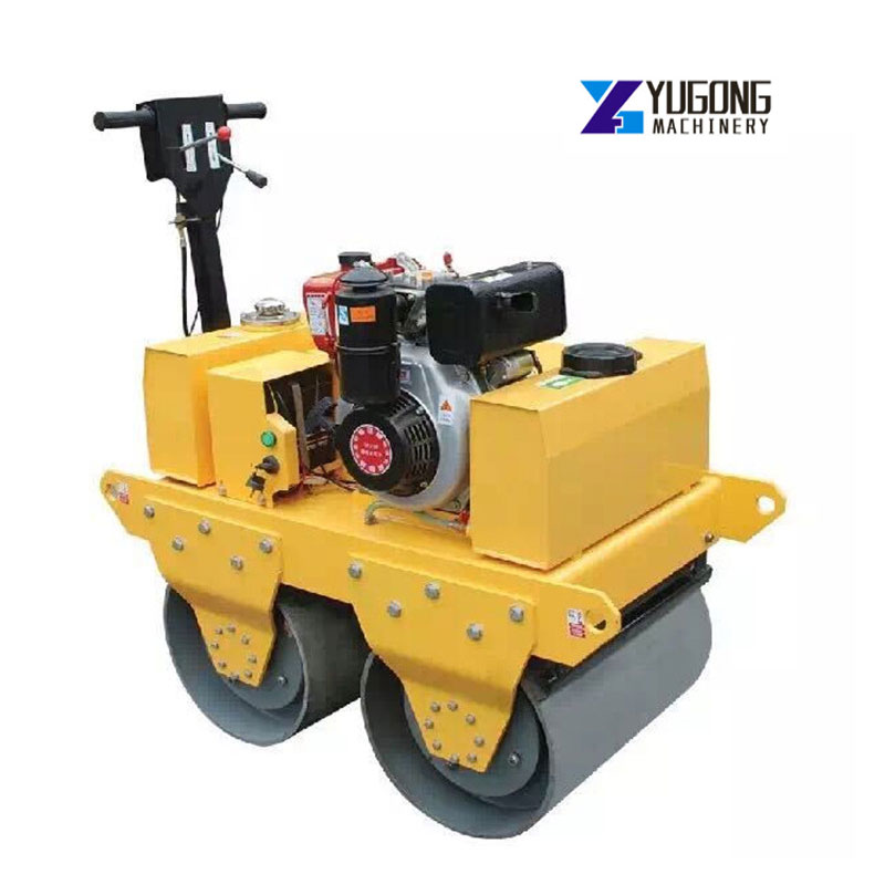 China Popular Vibration New Full Hydraulic Double Drum Vibratory Road Roller Machine Price
