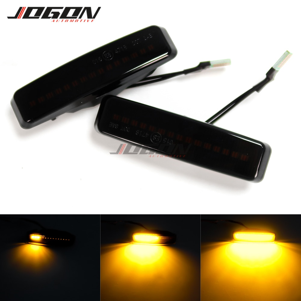 Car Side Body LED Dynamic Turn Signal Light Sequential Blinker Lamp For BMW 5 Series E39 525i 528i 530i 540i 1995-2003 M5