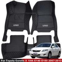 car floor mats for toyota corolla x 10th e140 e150 2007 2008 2009 2010 2011 2012 2013 floorliner interior accessory carpets