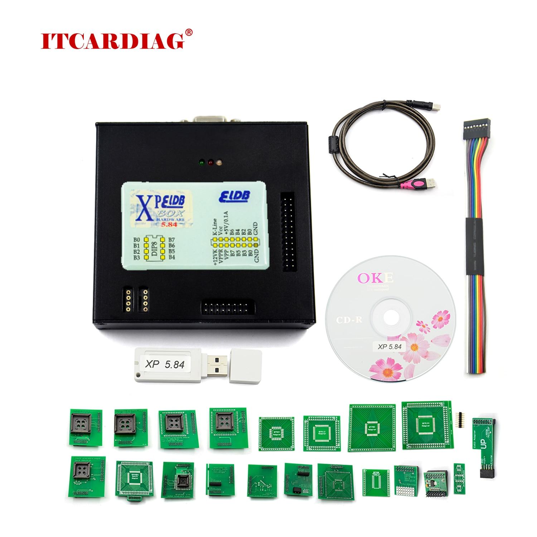X-PROG صندوق V5.55/5.60/5.70/5.74/5.84 ECU مبرمج XPROG-M V5.84 مع USB دونغل ECU رقاقة ضبط أداة