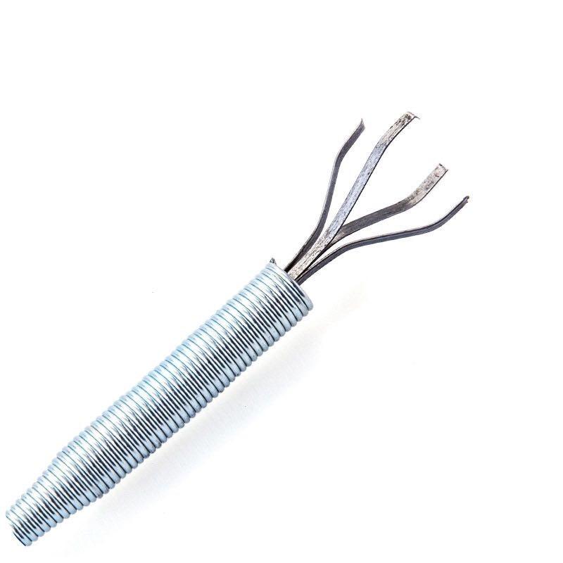 Купить с кэшбэком 60cm Spring Pipe Dredging Tools, Drain Snake,Sewer Dredge Pipeline Hook Clog Remover Cleaning Tools Household for Kitchen Sink