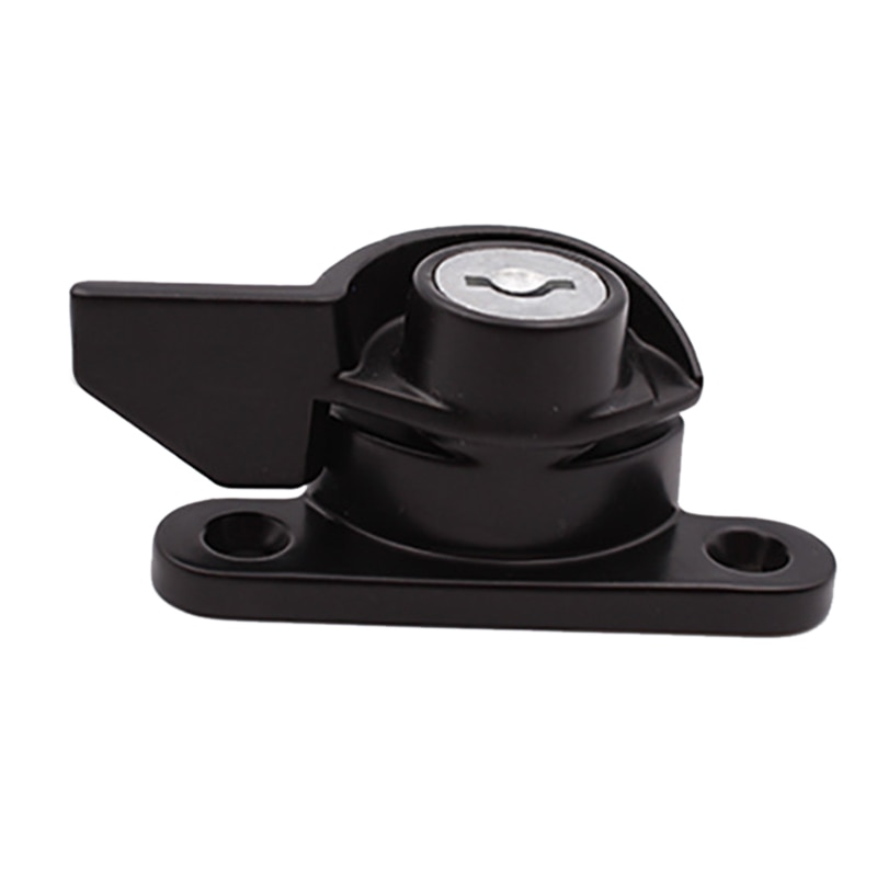 Cerradura de media luna de puerta corrediza segura práctica con cerradura especial de aleación de Zinc de diseño de seguridad