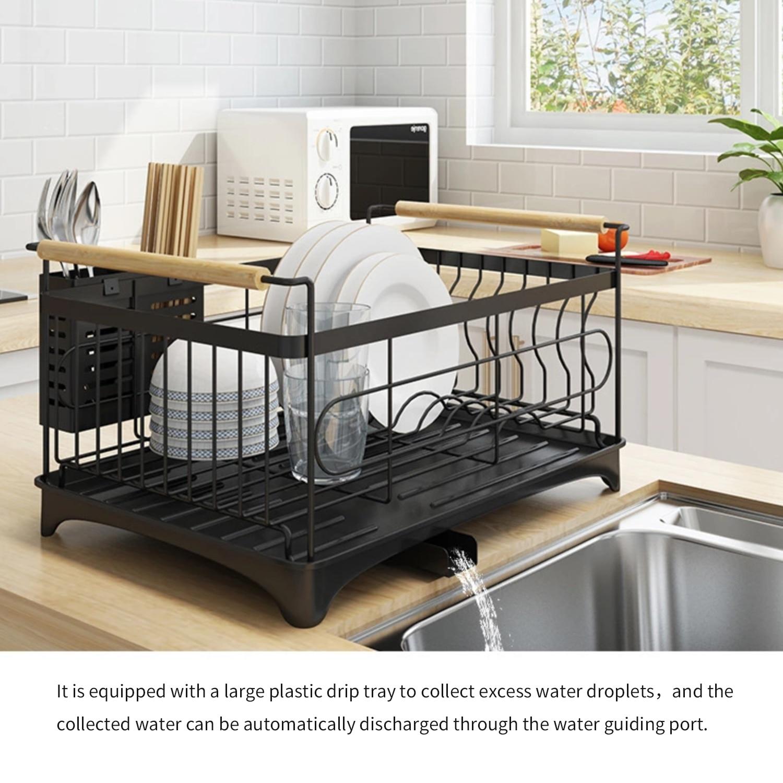 Подставка для посуды, Полка для сушки кухонной раковины, сушилка для столовых приборов, органайзер для посуды, сушилка для палочек