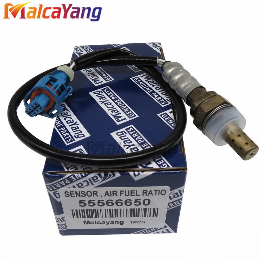 Relación de combustible de aire delantero, Sensor de oxígeno O2 para CHEVROLET CRUZE J300 1,6 ORLANDO J309 1,8 55566650