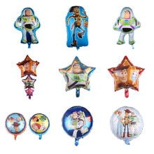 1pcs Toy Buzz Lightyear Balloons cartoon Foil Air Balloon Story Happy Birthday Party decorations Bal