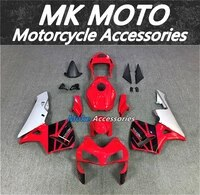 motorcycle fairings kit fit for cbr600rr 2003 2004 bodywork set high quality abs injection new red black silver