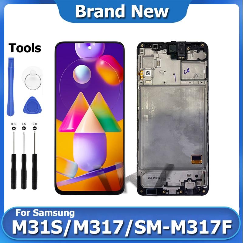 M31S LCD عرض إصلاح لسامسونج غالاكسي M317 6.5