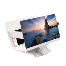 Nouveau téléphone portable écran loupe 3D agrandisseur vidéo amplificateur projecteur support support de bureau support pour iPhone
