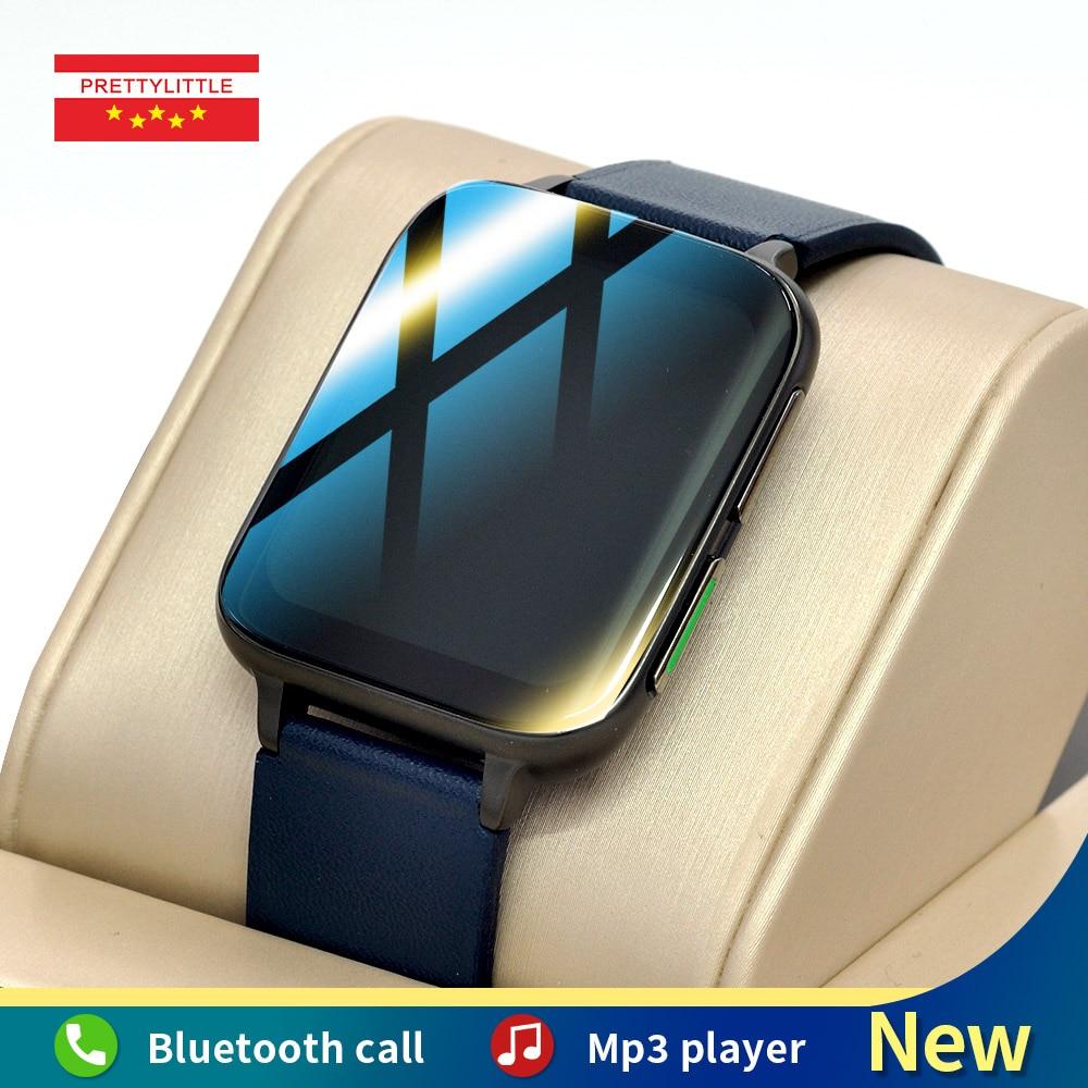Ecg ساعة ذكية الرجال 1.78 بوصة كامل شاشة تعمل باللمس تشغيل الموسيقى النساء الرياضة جهاز تعقب للياقة البدنية 2021 جديد Smartwatch ل IOS أندرويد