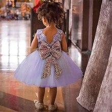 Кружевные платья на крестины с открытой спиной для маленьких девочек, летние торжественные платья для маленьких девочек 1, 2, 3, 4, 5, 6 лет, плат...