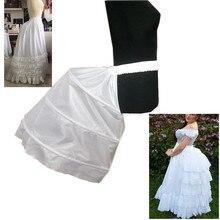 Jupon hanche Baroque adulte Slip jupon spécial pour Baroque 3 cerceaux robe de mariée Crinoline robe de bal sous-jupe