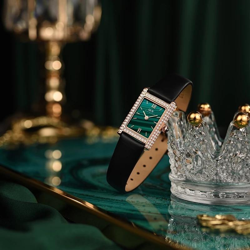 CARNIVAL Brand Women Fashion Watches Ladies Luxury Waterproof Sapphire Diamond Casual Girls Quartz Wristwatches Relogio Feminino enlarge