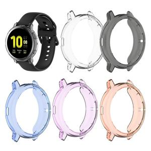 Ultra-thin TPU silicone protective case for Samsung galaxy watch active 2 44mm 40mm SM-R830 R820 Cover Replacement Accessories