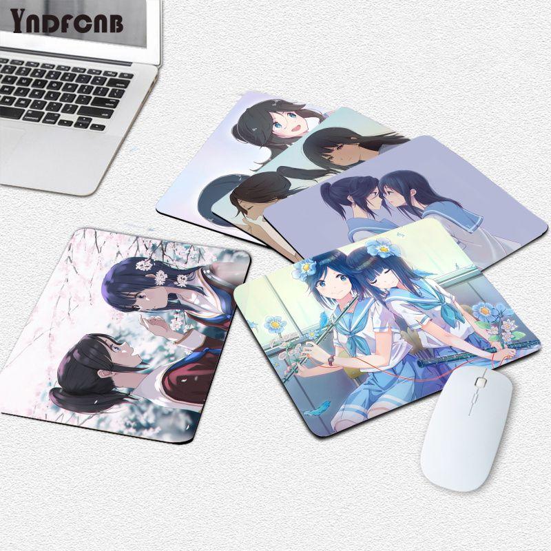 YNDFCNB аниме персонажи мультфильма «Лиз и Синяя Птица», коврик для мыши, компьютерный коврик для мыши, гладкий коврик для письма, настольные ко...