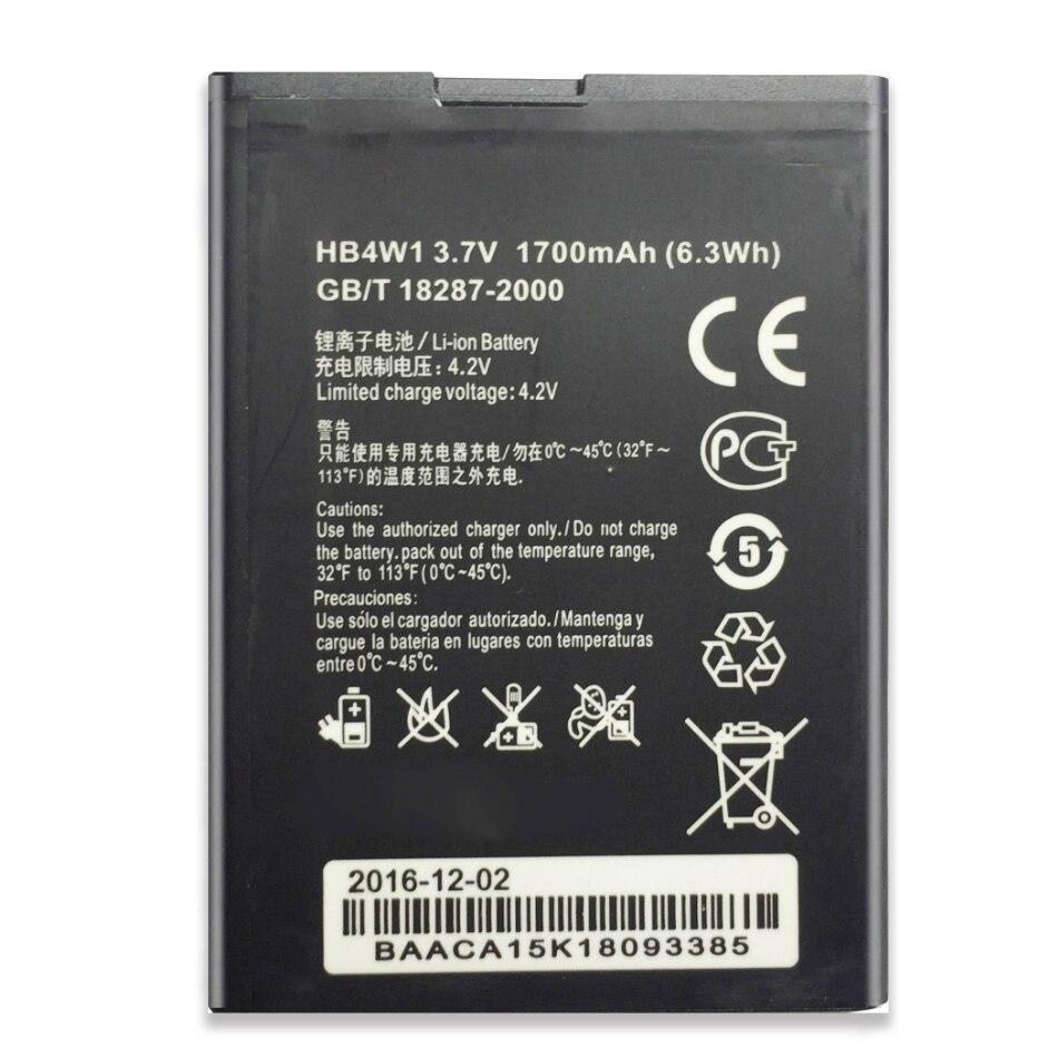 Para Huawei Ascend G510 G520 G525 Y210 C8813 C8813Q C8813D T8951 U8951 HB4W1 W2 1700mAh Da Bateria Do Telefone Móvel