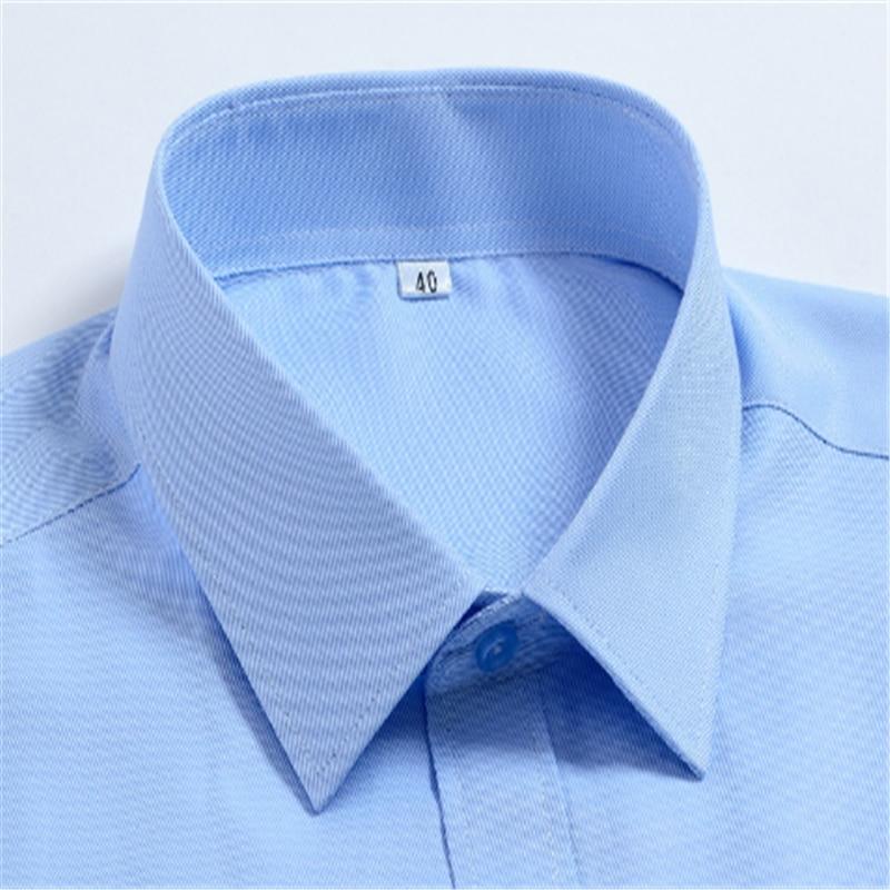 White Business Men Long Sleeve Shirt Blusas Blouse Camisa Masculina Bluzki Bluzka Chemise Longue Cotton Vestidos Casuales Social