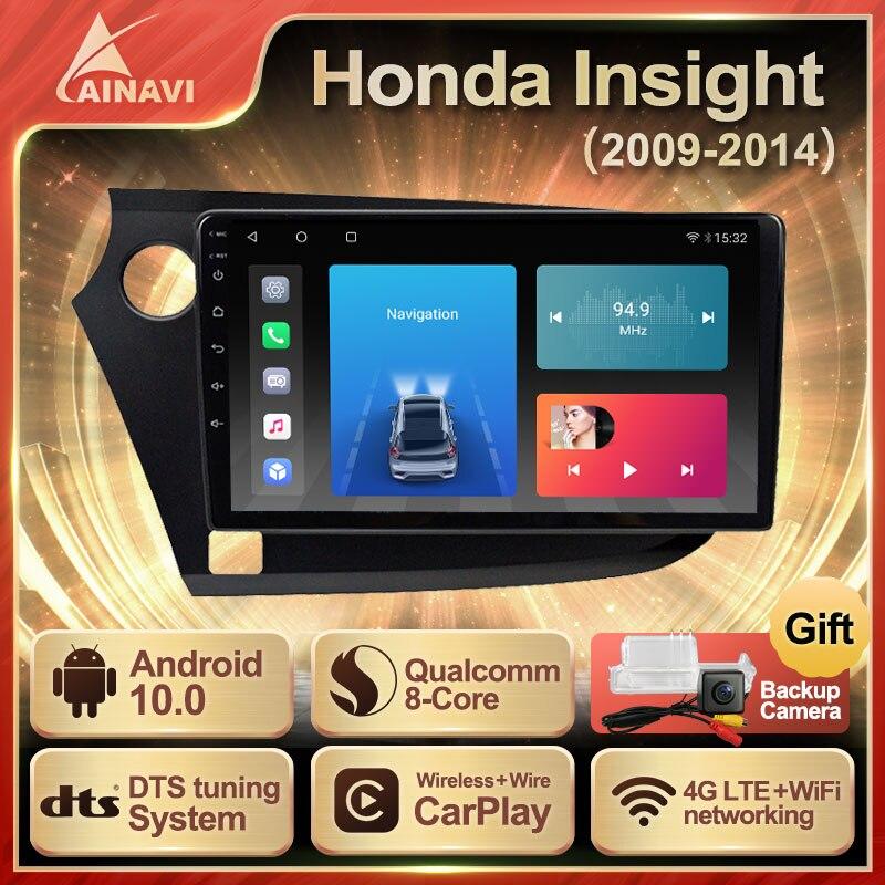 car-radio-android-10-qled-screen-for-honda-insight-2009-2014-auto-stereo-multimedia-video-player-navigation-gps-carplay-no-2din