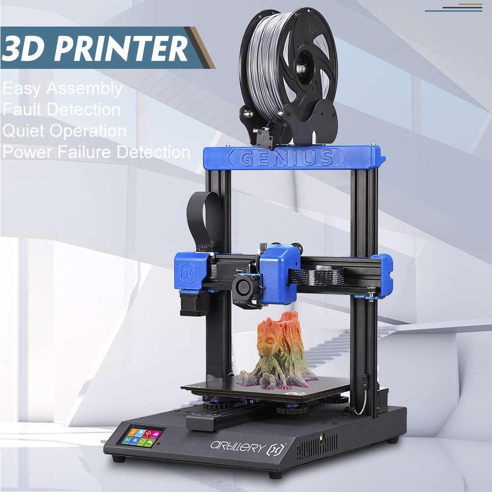 3D принтер artilery Genius DIY Kit Высокоточный двойной z-осевой ультра-тихий шаговый двигатель TFT сенсорный экран функция отключения питания