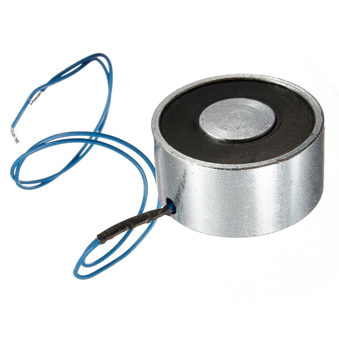 12V 55LB/25kg Electric Lifting Magnet Electromagnet Solenoid Lift Holding 40mm Mini solenoid electric Lifting electro magnet