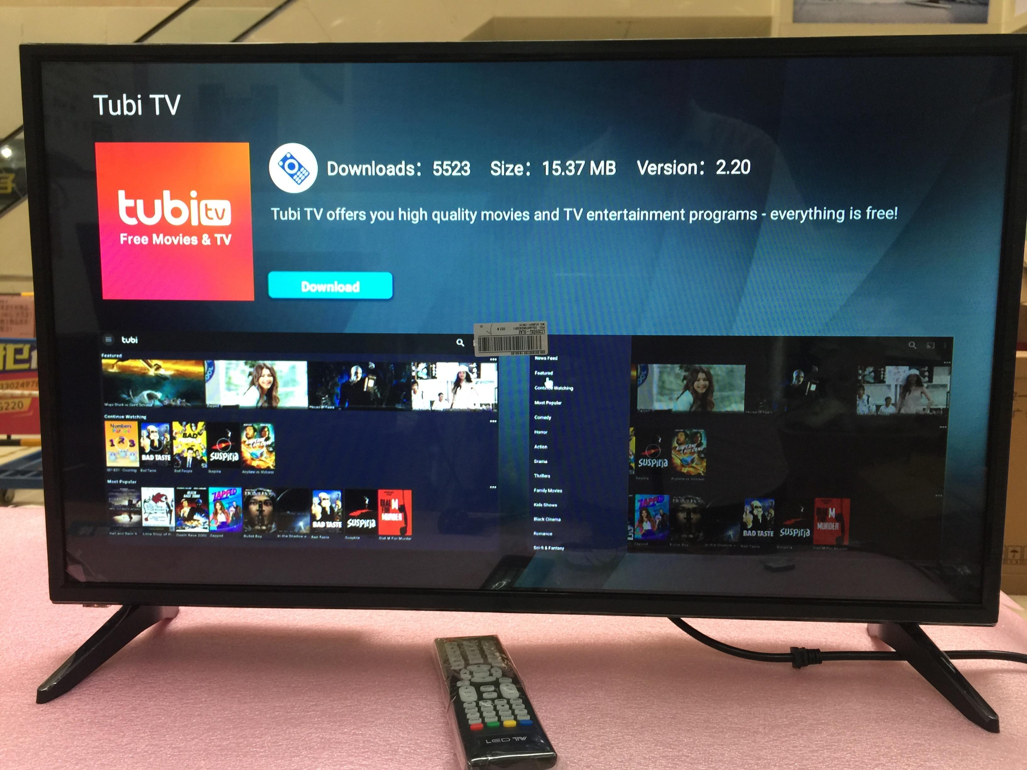 32 pulgadas HD monitor + Wifi Smart Android 7.1.1 Ram 1GB ROM 4GB internet televisión led tv