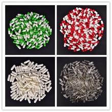 1000Pcs Empty Hard Gelatin Capsule Kosher Gel Medicine Pill Vitamins Personal Health Care Pill Cases
