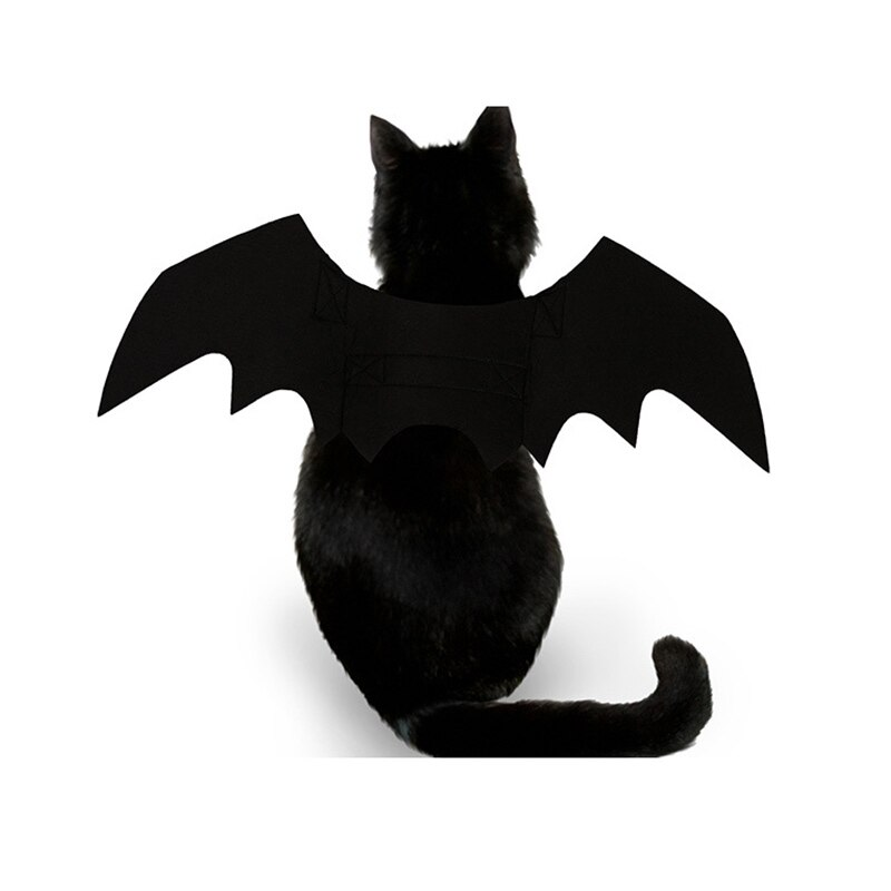 Pet Dog Cat Bat Wing Cosplay Prop Halloween Bat Fancy Dress Costume Outfit Wings JA55