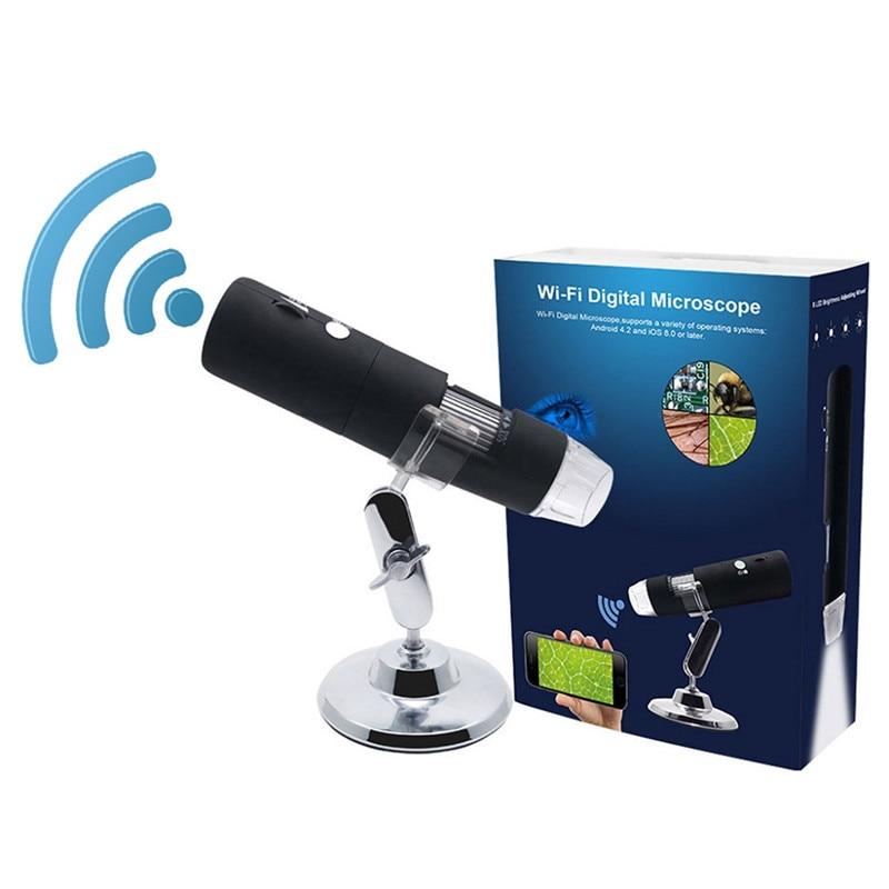 كاميرا مجهر مكبر رقمي 1000x ، واي فاي ، 3 ألوان ، 2021 بكسل ، أندرويد ، ios ، آيفون ، آيباد ، جديد ، 1080