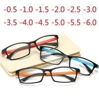 0 5 1 1 5 2 2 5 to 4 5 5 0 prescription myopia glasses finished women men super light plastic shortsighted glasses