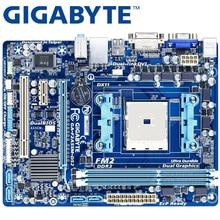 GIGABYTE GA-F2A55M-DS2 Desktop Motherboard A55 Socket FM2 For AMD A10 A8 A6 A4 Athlon 64G DDR3 Original F2A55M-DS2 Used
