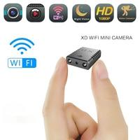 Мини Wi-Fi камера Full HD 1080P для домашней безопасности, видеокамера ночного видения, микро камера с детектором движения, видео, диктофон