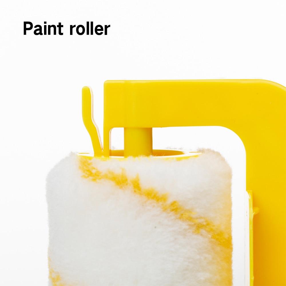 Clean-Cut Paint Edger Roller Brush Multifunctional Roller Paint Brush Clean-Cut Paint Edger Wall Painting Roller Brush Set