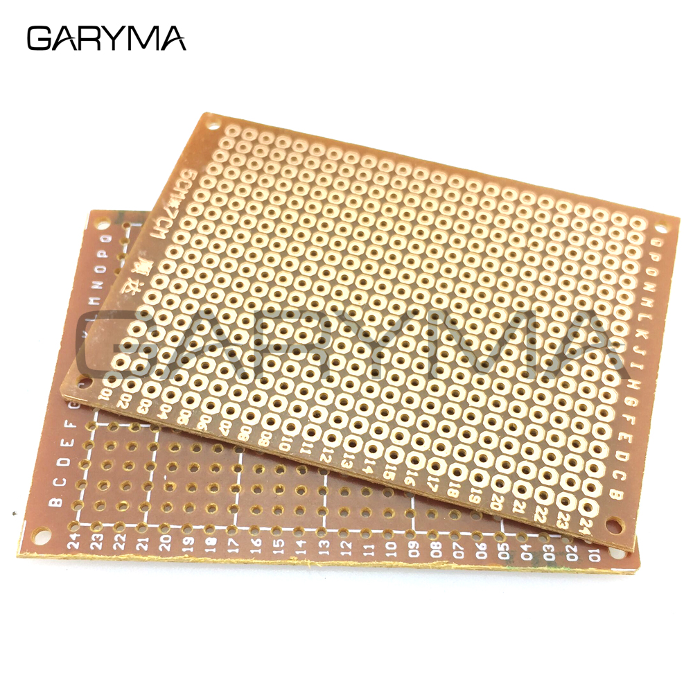 5pcs Single Side 5x7cm DIY Prototype Paper Prototype PCB Universal Experiment Matrix Circuit Board