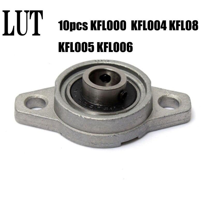 10PCS KFL000 KFL004 KFL005 KFL006 KFL08 KL08 FL08 08 8mm kissen block rhombischen lager zink-legierung einsatz linear lager welle