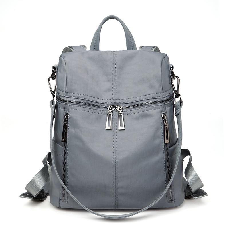 Фото - Новый тренд, женский рюкзак, Модный женский рюкзак из ткани Оксфорд, роскошный женский рюкзак, школьный рюкзак рюкзак женский solo 221 489