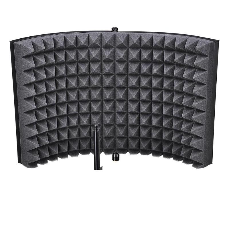 ABSF Студия микрофон изоляция щит акустическая запись Звукопоглощающая пена панель