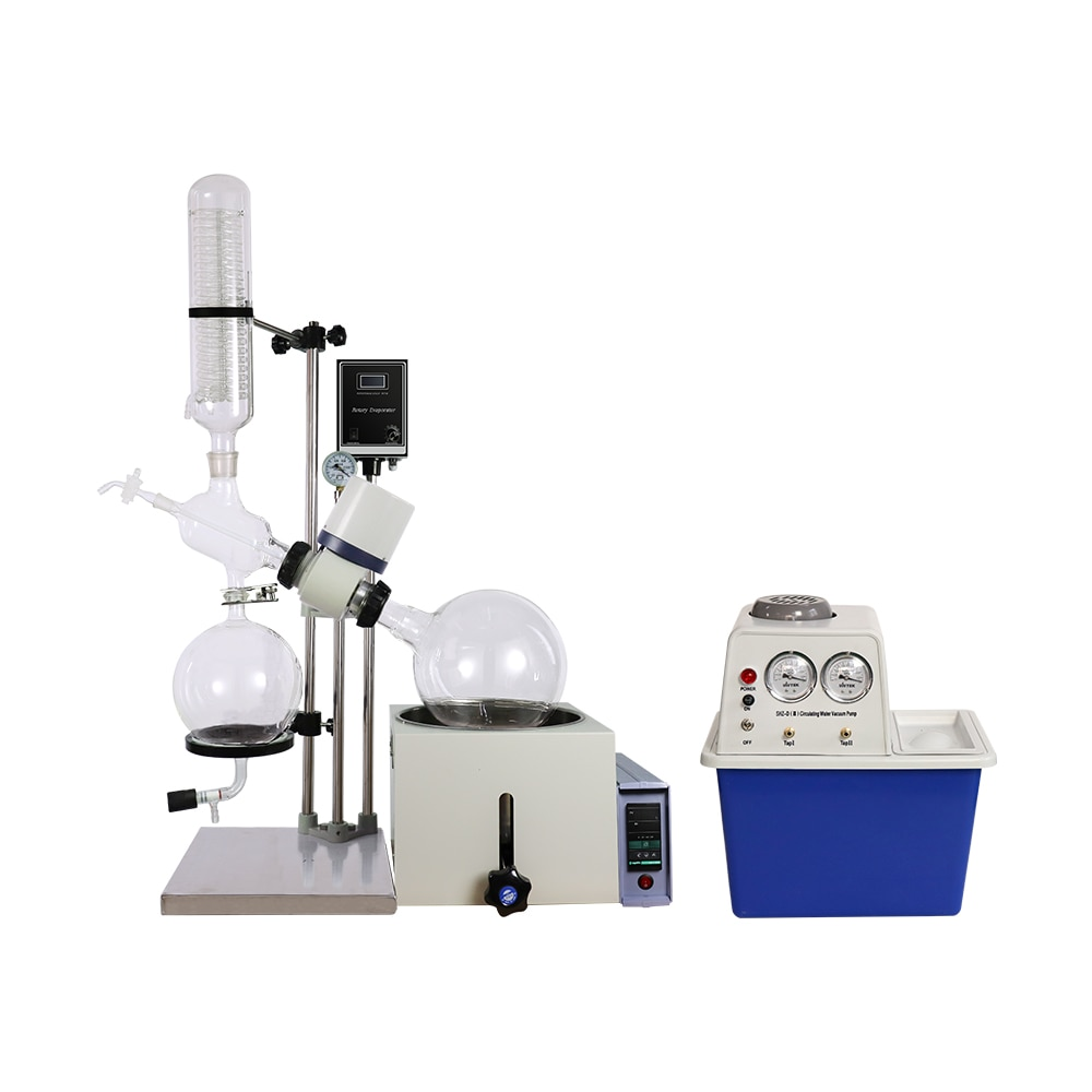 Laboratory Equipment RE501 Small Volume  Rotary Evaporator  +Circulating water vacuum pump