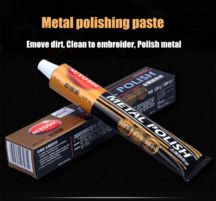 Metal polishing paste, copper paste, gold and silver jewelry polishes, hardware watches, deoxidation