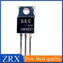 5Pcs/Lot IRF9520 TO-220 P-Channel -100V -6.8A  brand new original imported field effect