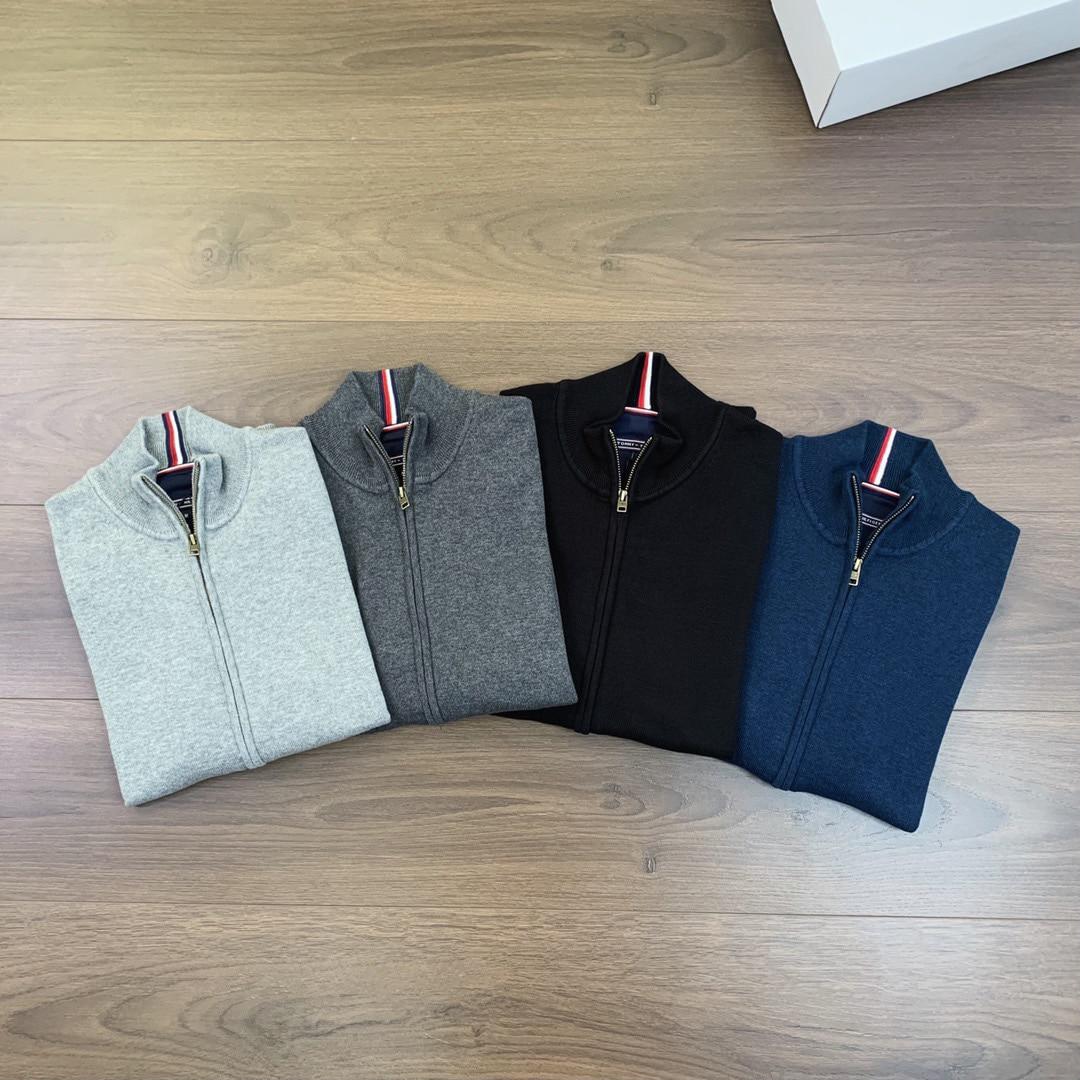 TM Autumn Winter Men's Sweater Coat Faux Fur Wool Sweater Jackets Men Zipper Knitted Thick Coat Warm Casual Knitwear Cardigan