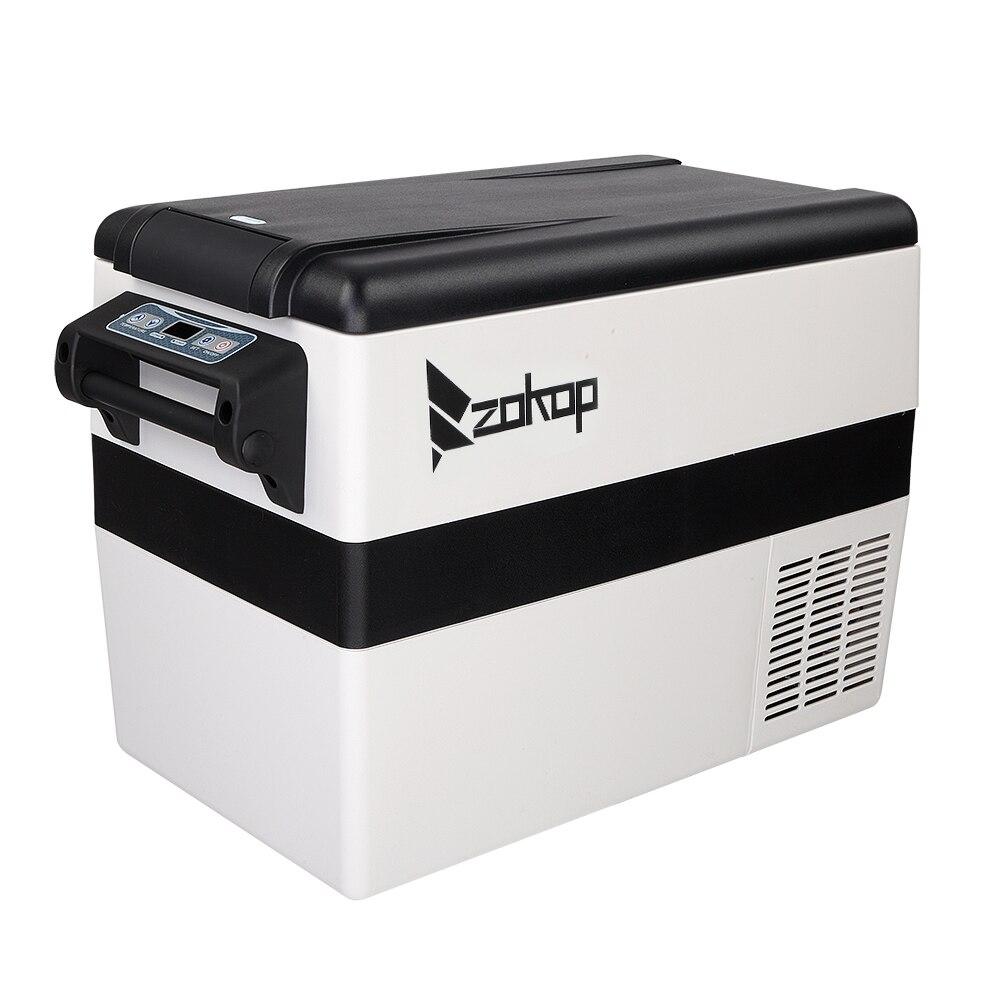 42l автомобильный холодильник 12v/24v компрессор морозильной камеры Портативный автомобильный холодильник круто с цифровым Дисплей для домашн...