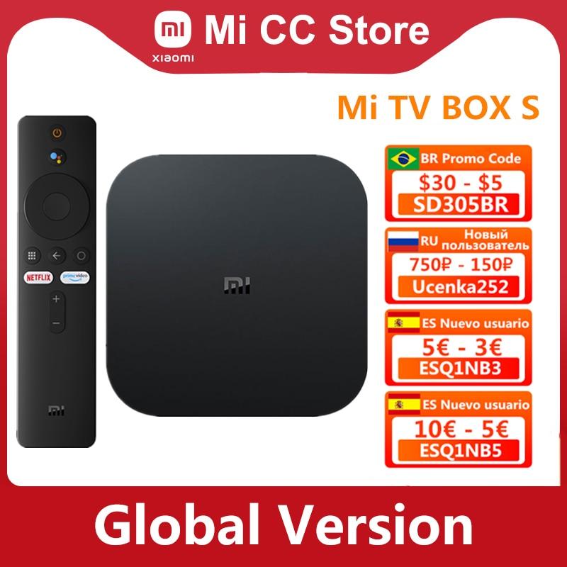 Versión Global Xiaomi funda para TV Mi S 4K Ultra HD Android...