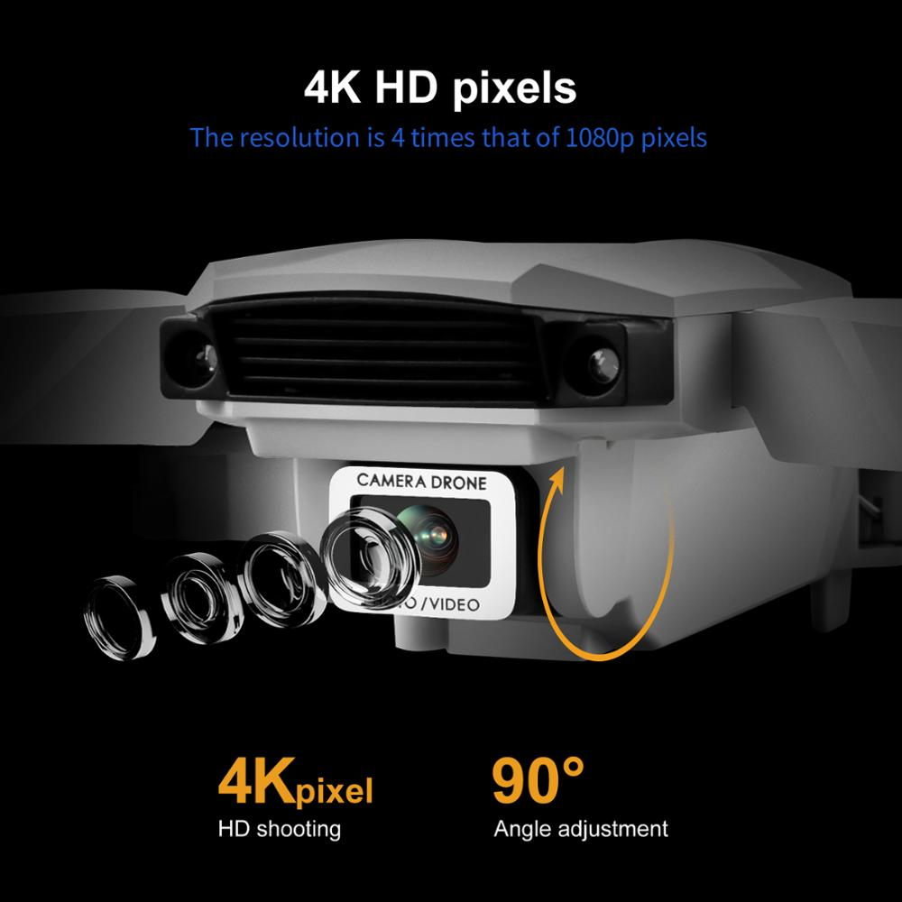 SHAREFUNBAY Drone 4k HD Dual Camera Visual Positioning 1080P WiFi Fpv Drone Height Preservation Rc Quadcopter S62 Pro Drones Toy enlarge